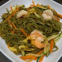 P33 Pasta with Te 'Verde with Shrimps